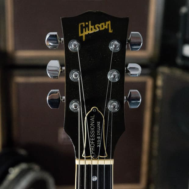 1981 gibson 335 s deluxe professional silverburst owned by reverb. Black Bedroom Furniture Sets. Home Design Ideas