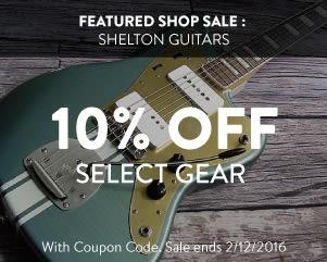 Shop Sale: Shelton Guitars