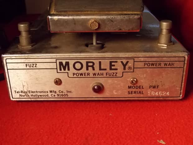 morley power wah fuzz pedal vintage tel ray big box reverb. Black Bedroom Furniture Sets. Home Design Ideas