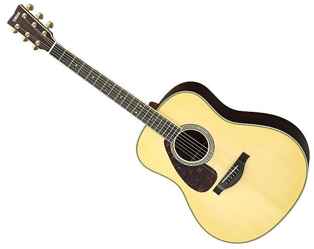 yamaha ll16r left handed solid rosewood acoustic electric reverb. Black Bedroom Furniture Sets. Home Design Ideas
