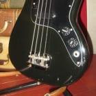 Vintage original 1978 Fender Musicmaster Bass Black image
