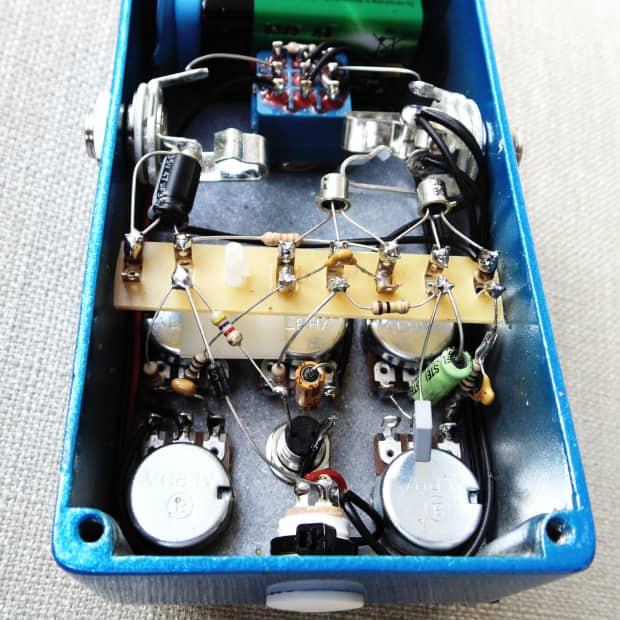 Vintage Fuzz Face Circuit Board Clone Kit