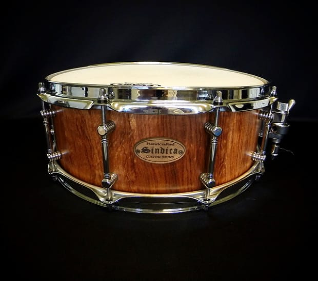 new custom bubinga stave snare drum huge price drop reverb. Black Bedroom Furniture Sets. Home Design Ideas
