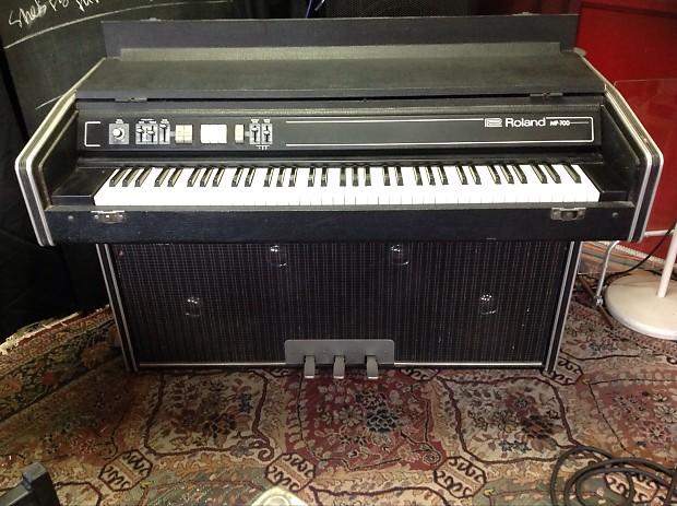 1977 roland mp 700 keyboard mp 100 amp speaker works reverb. Black Bedroom Furniture Sets. Home Design Ideas