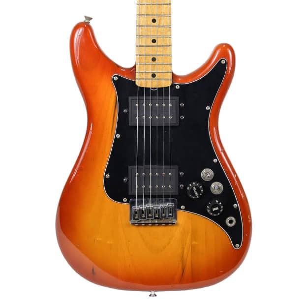 Vintage 1982 Fender Lead Iii Electric Guitar Reverb