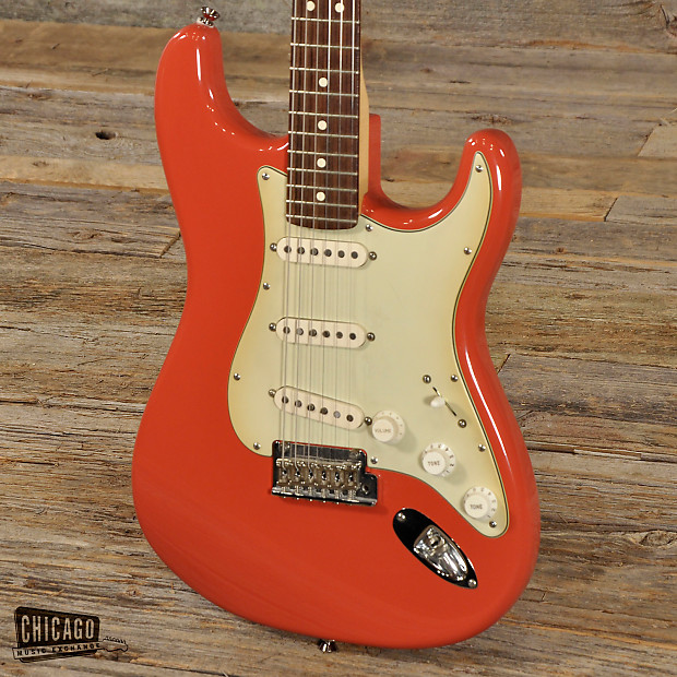 fender fsr american standard stratocaster fiesta red used reverb. Black Bedroom Furniture Sets. Home Design Ideas