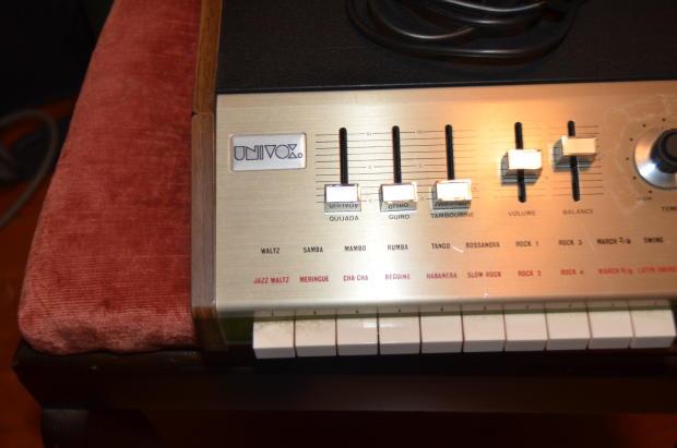 Vintage univox rhythm machine