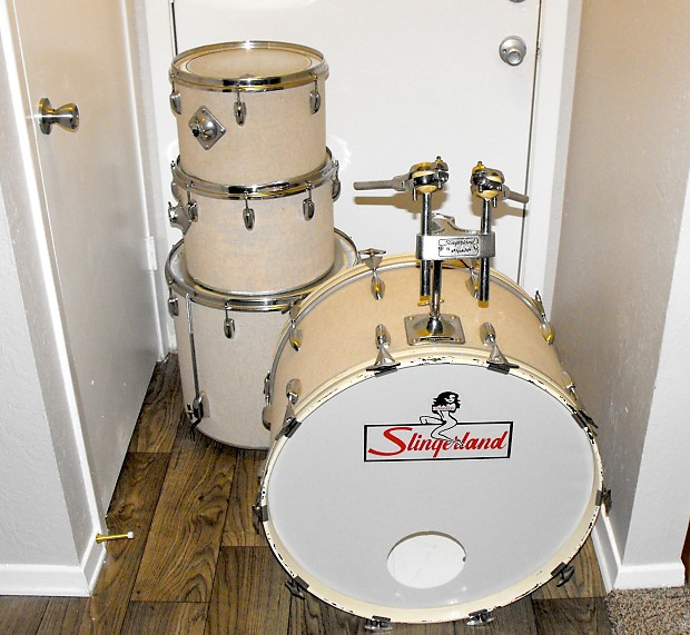 Slingerland 4 pc mid 1970 39 s reverb for 13 inch floor tom