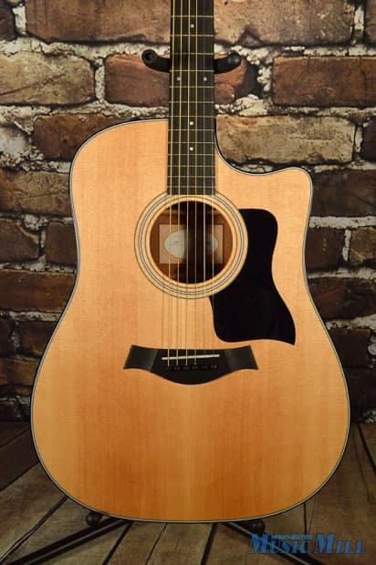 2013 taylor 310ce dreadnought acoustic electric guitar new reverb. Black Bedroom Furniture Sets. Home Design Ideas