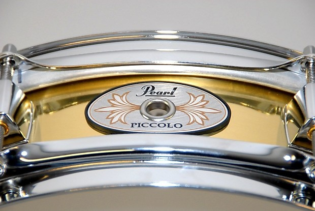 pearl brass piccolo snare drum reverb. Black Bedroom Furniture Sets. Home Design Ideas