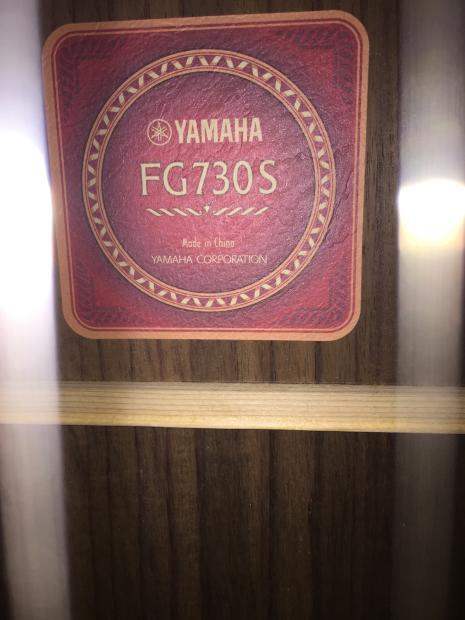 Yamaha fg 730s natural reverb for Yamaha jr1 vs jr2