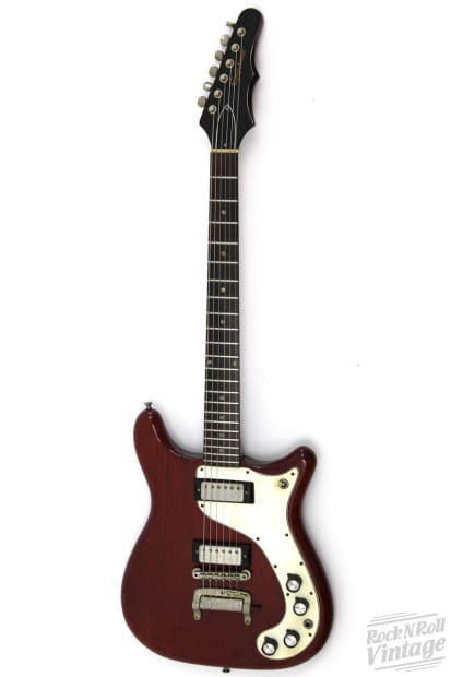 Crestwood Auto Sales >> 1965 Epiphone Crestwood Cherry Red | Reverb