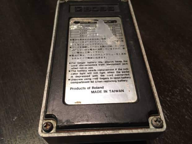 Boss Pq 4 Parametric equalizer manual