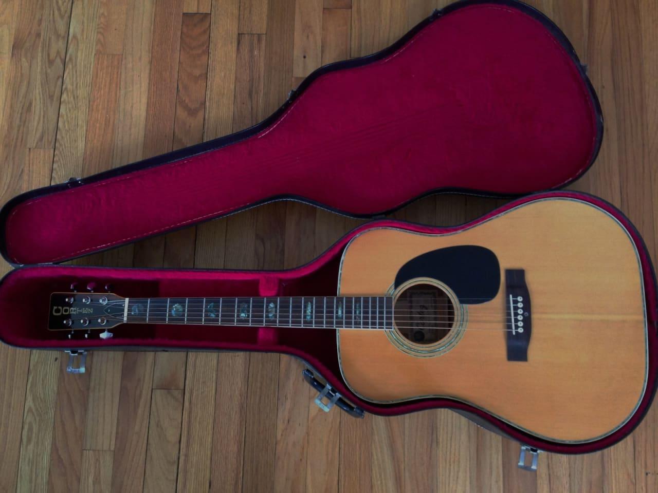 vintage cortez j6000 martin d 45 copy acoustic guitar w reverb. Black Bedroom Furniture Sets. Home Design Ideas