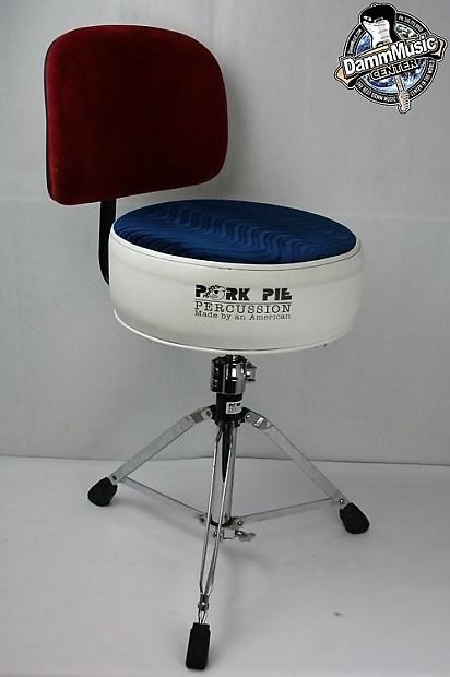 mounting a roc n sock backrest on a pork pie round drum throne drummerworld official. Black Bedroom Furniture Sets. Home Design Ideas