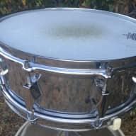 "Fibes STF 5.5""x14"" Snare Drum Fiberglass 1970s Chrome"