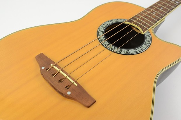Popular Guitar Gears | Ovation Bass Guitar Review