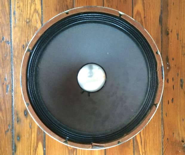 2 Vintage Altec Lansing 418b 15 Quot Speakers Original From