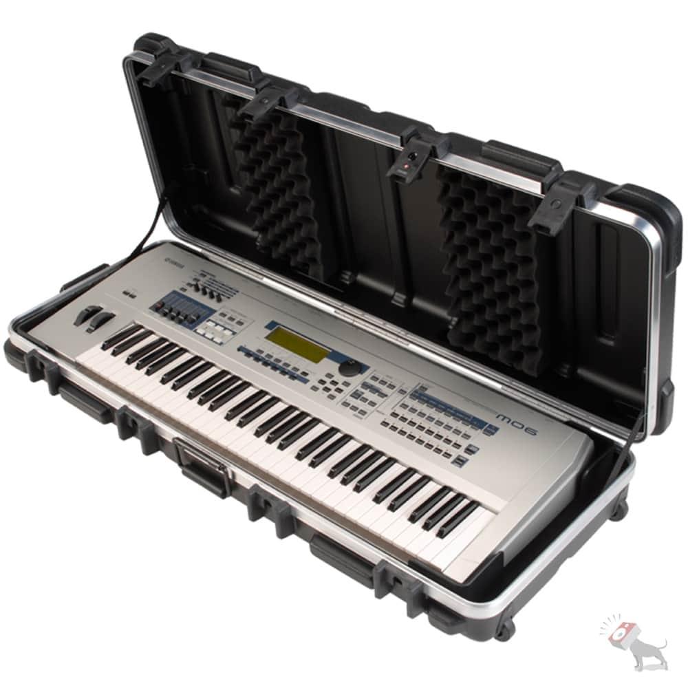 Skb 1skb 4214w ata hardshell flight case for 61 note reverb for Yamaha mx61 specs