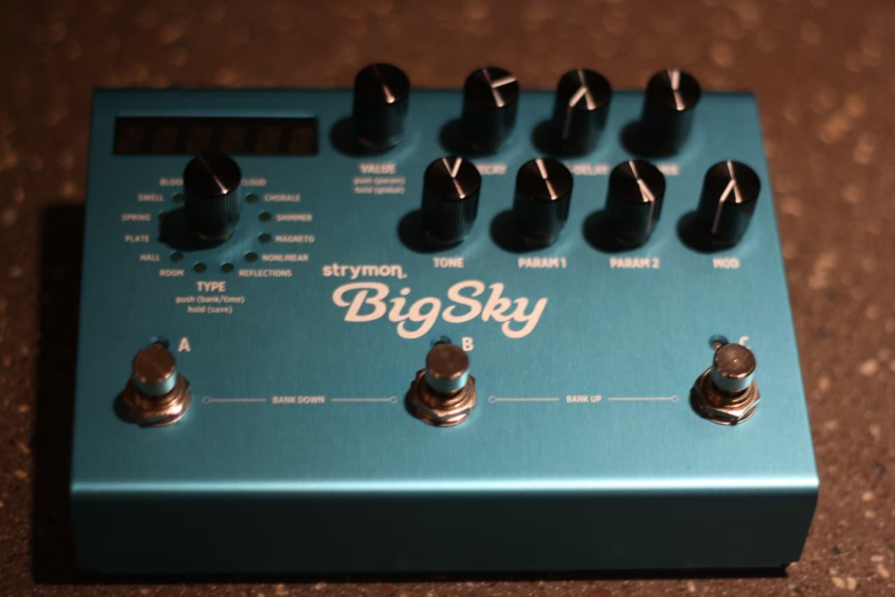 strymon big sky reverb bigsky pedal reverb. Black Bedroom Furniture Sets. Home Design Ideas