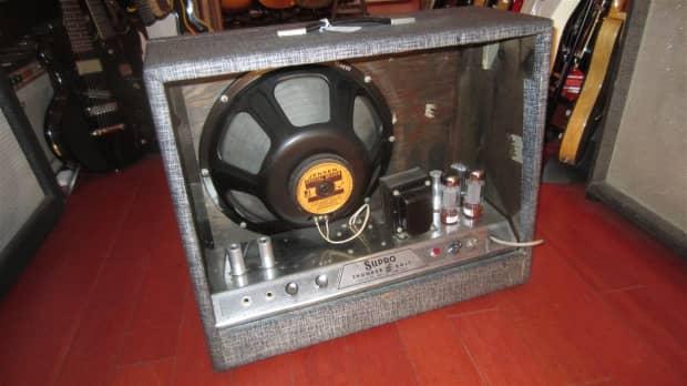 supro thunderbolt guitar amp 1964 reverb. Black Bedroom Furniture Sets. Home Design Ideas