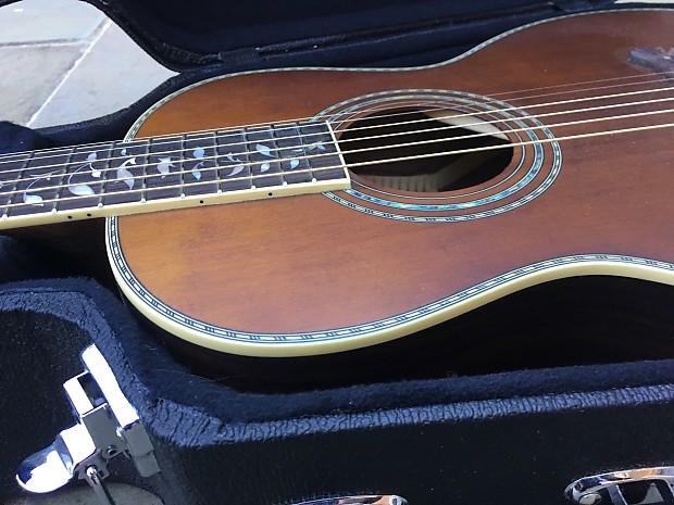 Washburn Vintage Series R320swrk Acoustic Guitar 2013 God Movies