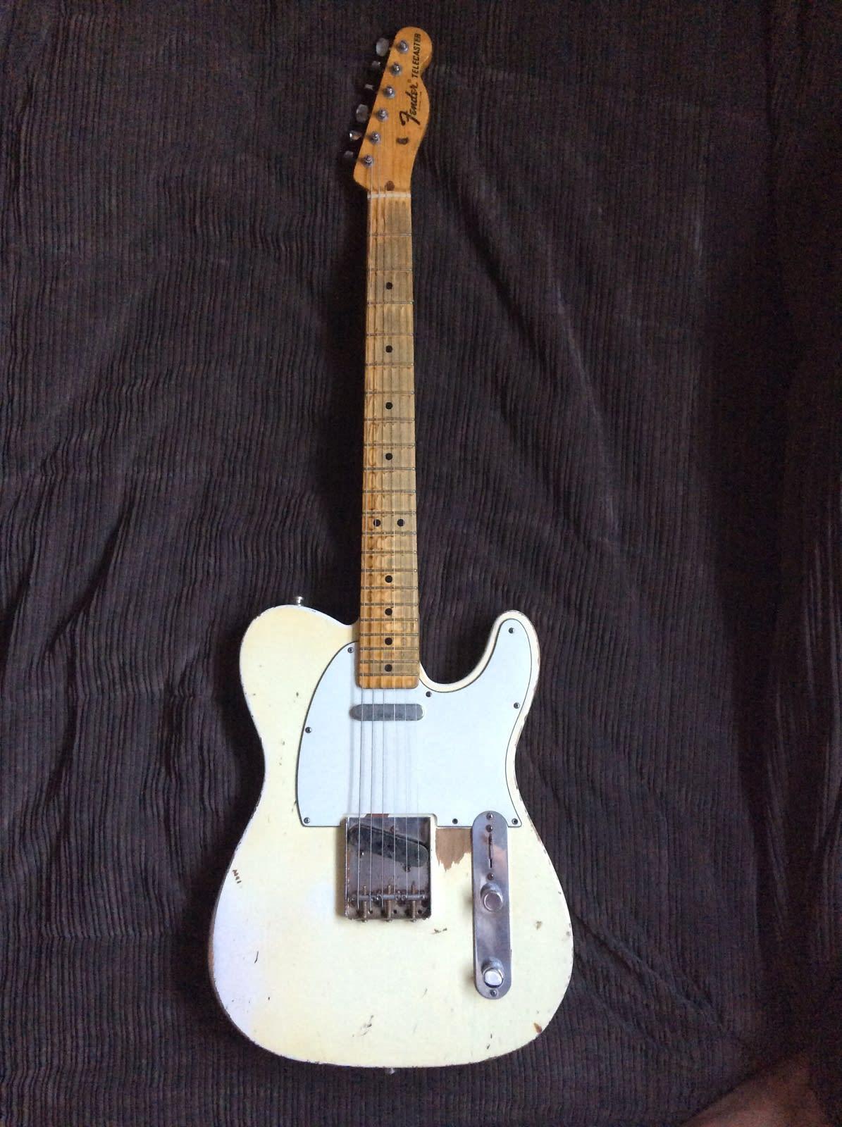 Fender Custom Shop '67 Relic Telecaster 2002 Arctic White