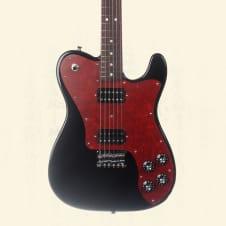 Fender Japan Limited Telecaster Deluxe Hh Electric Guitar - Black Td-2H Blk image