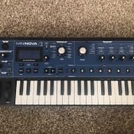 Novation Mininova Synthesizer 2015 Blue/Black/Dark Wood