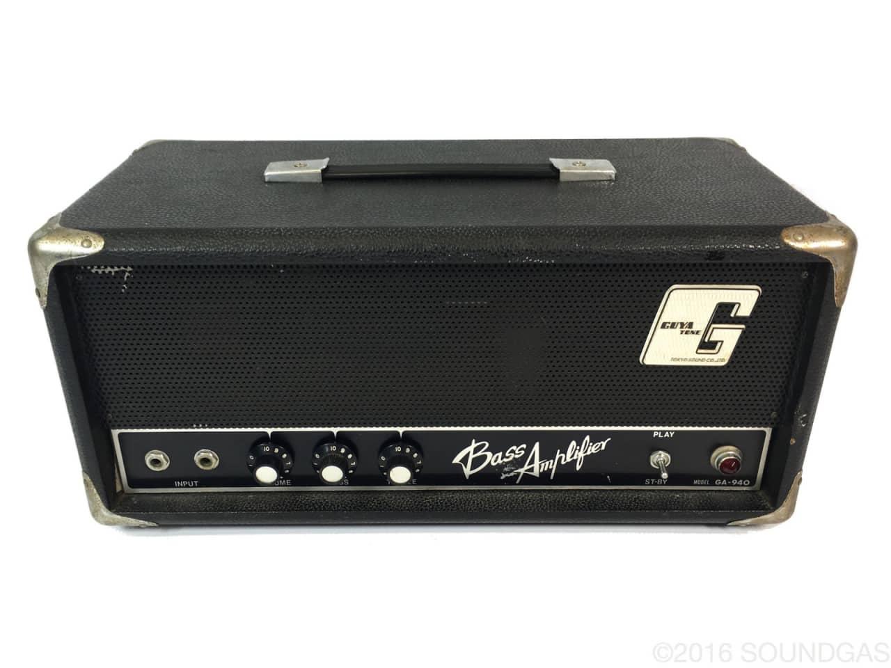 guyatone ga 940 bass amplifier head selmer 50 circuit reverb. Black Bedroom Furniture Sets. Home Design Ideas