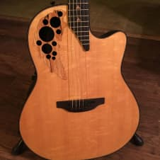 Ovation 2007 BCS Natural w/additional preamp image