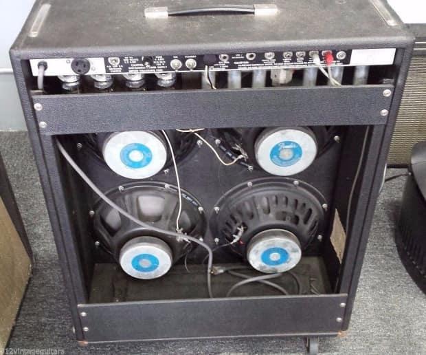 70 39 s fender quad reverb 4x12 electric guitar amplifier reverb. Black Bedroom Furniture Sets. Home Design Ideas