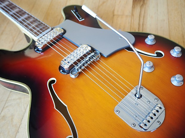 1960s welson ds2 vintage hollowbody electric guitar near mint reverb. Black Bedroom Furniture Sets. Home Design Ideas