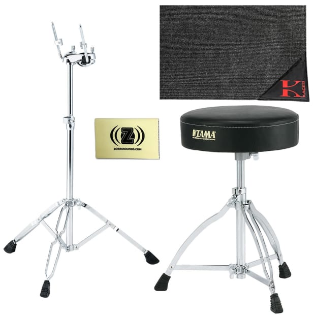 tama htw39wk1 stage master double tom stand with drum rug reverb. Black Bedroom Furniture Sets. Home Design Ideas