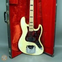 Fender Jazz Bass 1973 Olympic White image