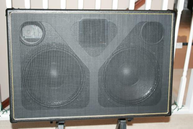 matrix fr212 full range speaker cabinet for axe fx and other reverb. Black Bedroom Furniture Sets. Home Design Ideas
