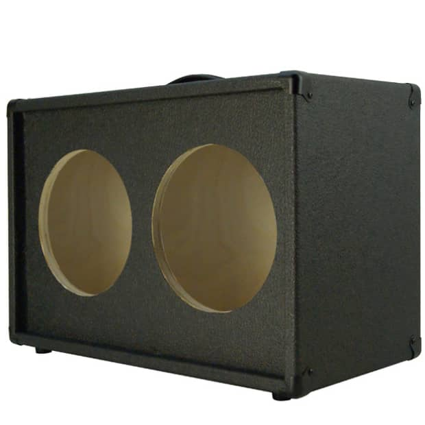 2x10 guitar speaker empty cabinet charcoal black tolex reverb. Black Bedroom Furniture Sets. Home Design Ideas