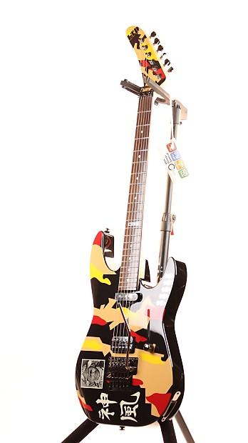 esp ltd gl 200k george lynch kamikaze graphic electric guitar reverb. Black Bedroom Furniture Sets. Home Design Ideas