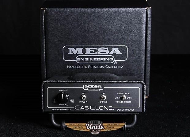 Mesa Boogie Cab Clone - Amp Interface u0026 Cabinet Simulator 8 ohm AC.CC8