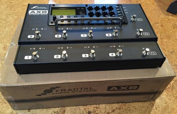 Ax8 Amp Modeler : fractal audio ax8 amp modeler multi effects processor floorboard axe fx ii reverb ~ Vivirlamusica.com Haus und Dekorationen
