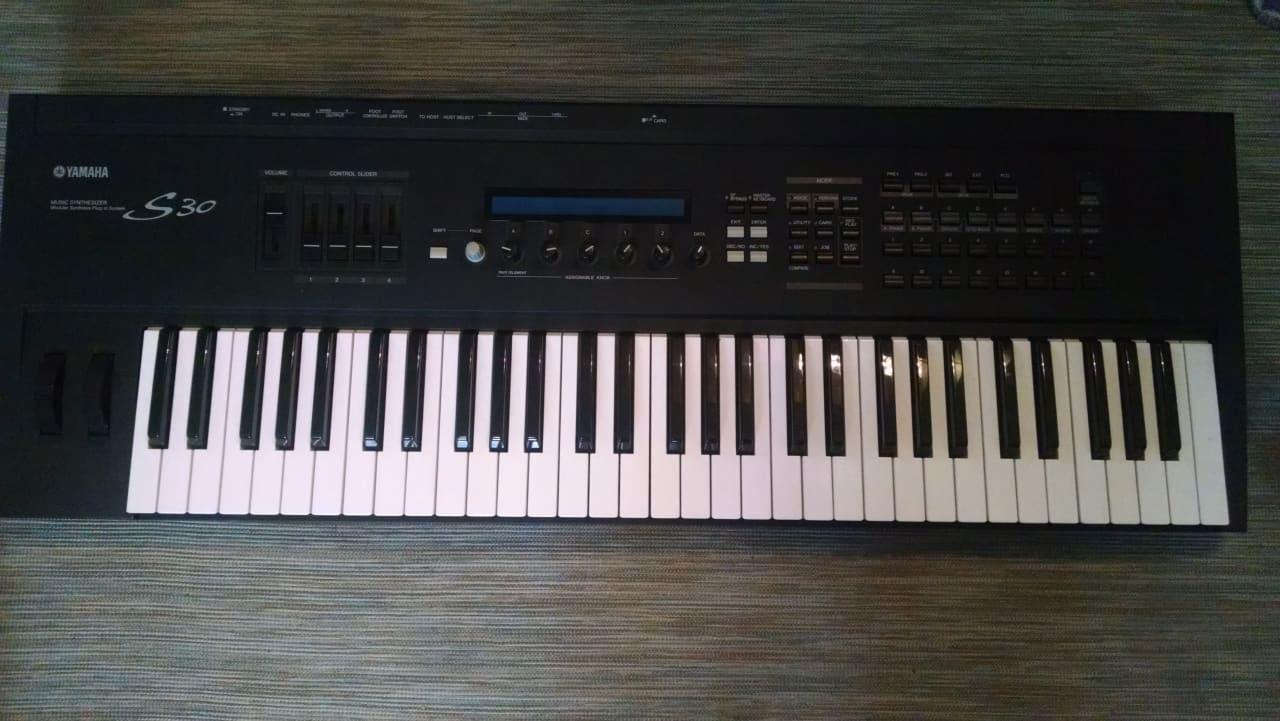 Yamaha s30 synthesizer 61 key reverb for Yamaha keyboard synthesizer