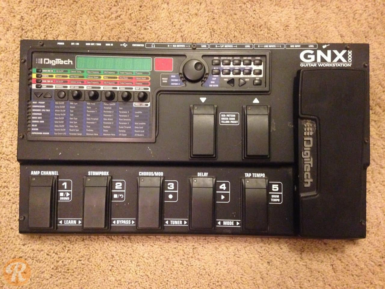 digitech gnx3000 multi effects price guide reverb. Black Bedroom Furniture Sets. Home Design Ideas