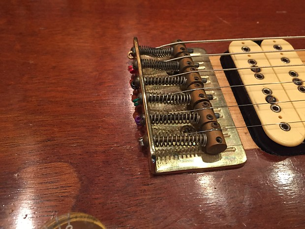 1977 1978 Vintage S D Curlee 6 String Electric Guitar Sd