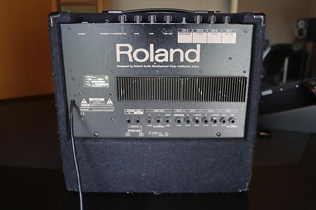 roland kc 300 amplifier reverb. Black Bedroom Furniture Sets. Home Design Ideas