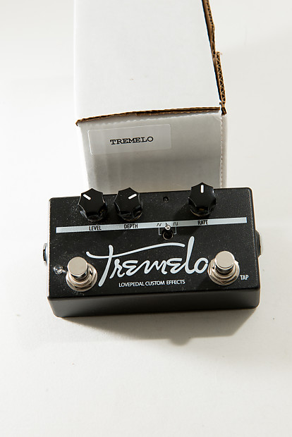 lovepedal tremelo tap tempo limited edition black reverb. Black Bedroom Furniture Sets. Home Design Ideas