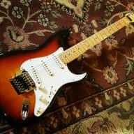 1988 Fender Stratocaster - Japan - Sunburst - Kahler