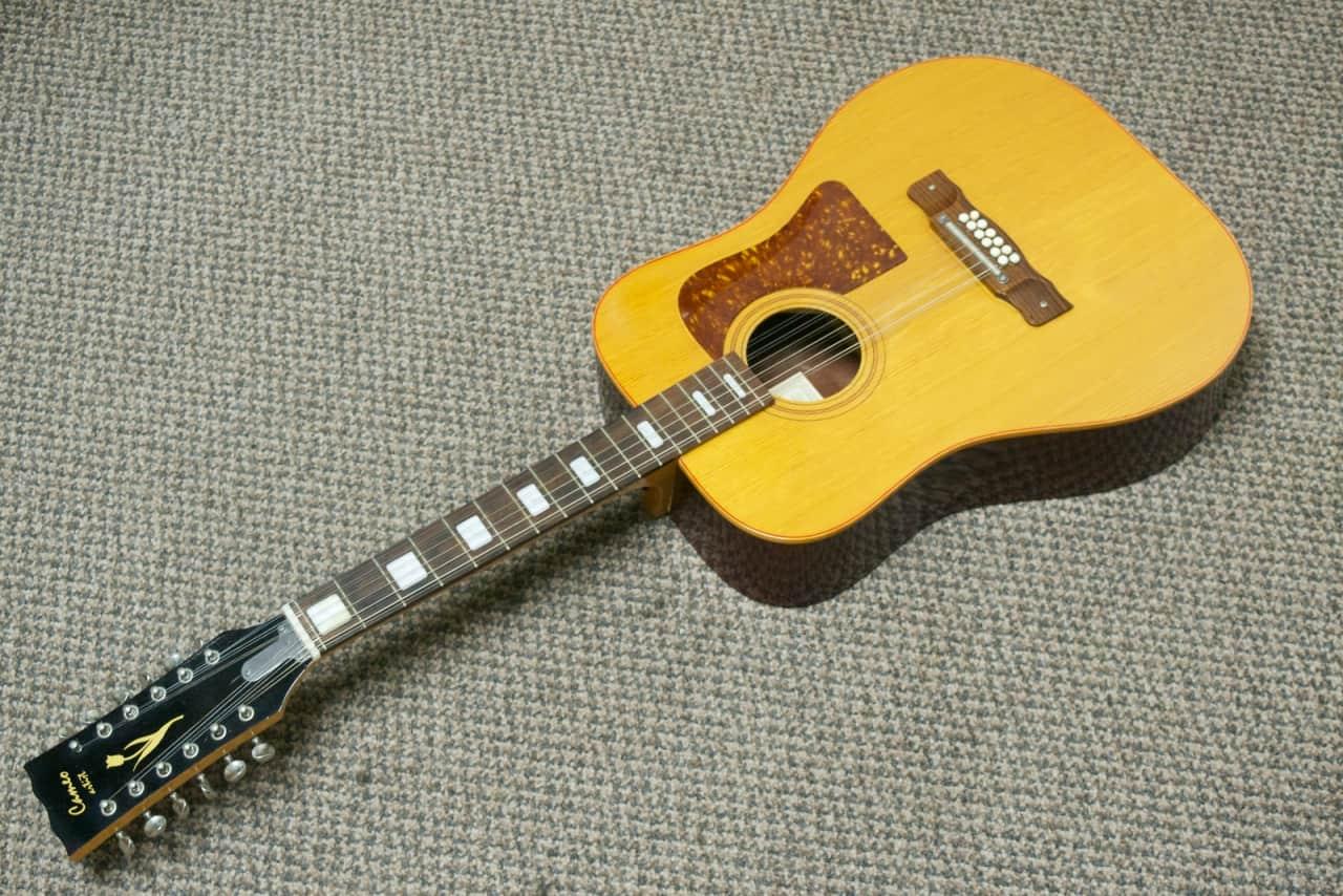 cameo artist model f 613 h 12 string acoustic guitar for reverb. Black Bedroom Furniture Sets. Home Design Ideas