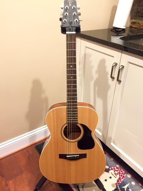 Voyage Air Vaom 04na Folding Acoustic Guitar Reverb