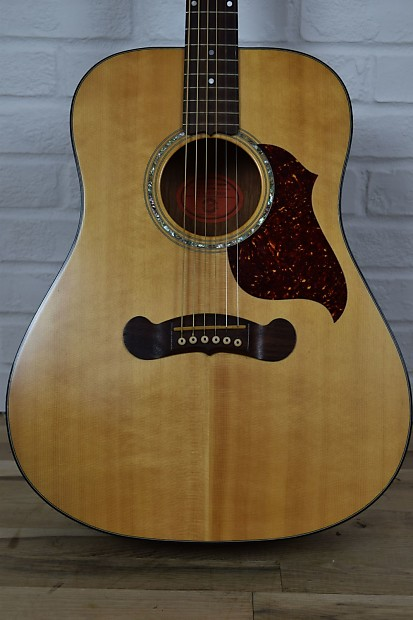 gibson cl 10 acoustic electric guitar excellent w case used reverb