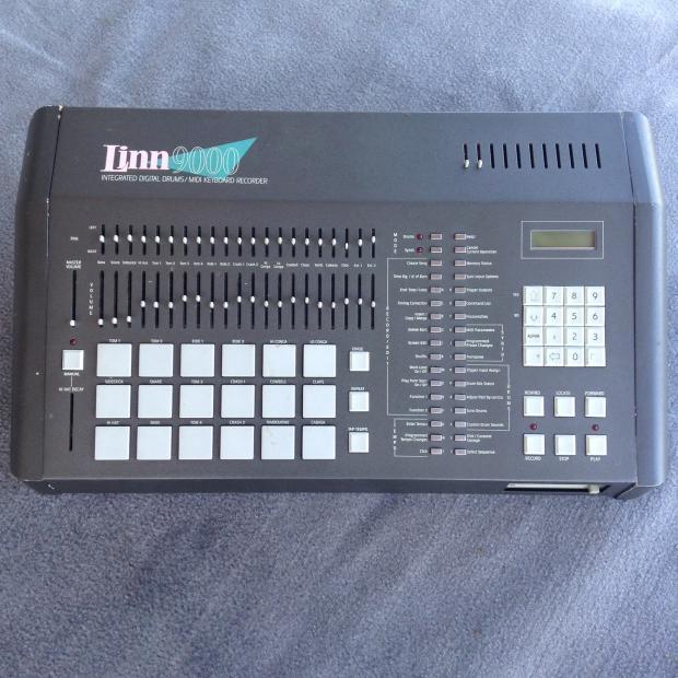 1986 Vintage Linn 9000 Drum Machine Beatbox Sampler Forat